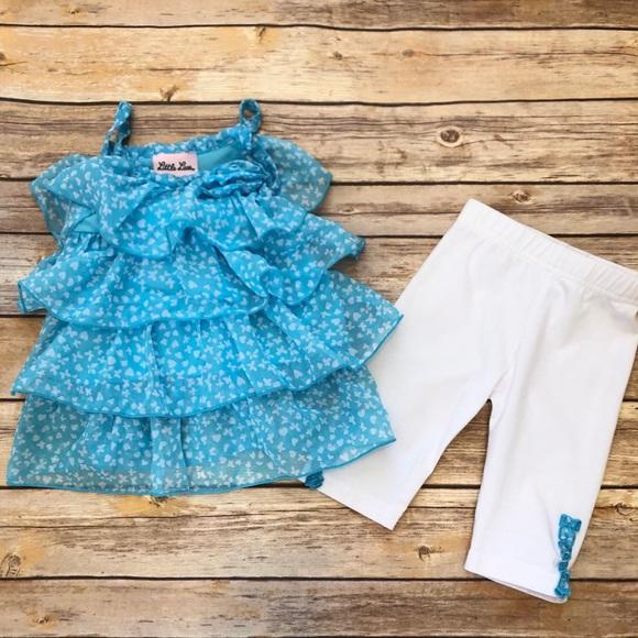 Little Lass Matching Set Size 18 Months